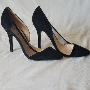 Sexy suede heels
